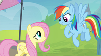 Rainbow Dash accepts Fluttershy's help S4E22