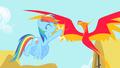 Rainbow Dash high-fives Philomena S1E22.png