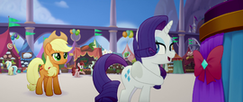 "Rarity ""anypony can do fine"" MLPTM"