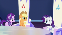 "Rarity ""baby is due any day"" S6E1"