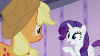 "Rarity ""why don't we pop back so"" S6E10"