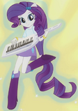 Rarity Anthro Rainbow Rock Shorts