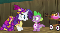 Rarity and Spike S2E21