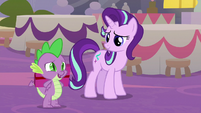 "Spike ""we wanted to give this to you"" S9E26"