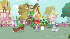 Spike com os animais T03E11