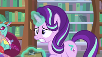 Starlight worries about Trixie's conference S9E20