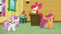 Sweetie --I was distracted by the radiance of my cutie mark-- S6E4