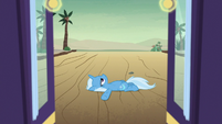 Trixie still lying on the road S8E19