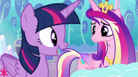 Twilight --I can help keep tabs on her magic-- S6E1
