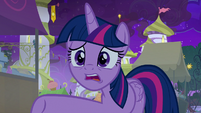 "Twilight Sparkle ""why didn't you tell me?"" S9E17"