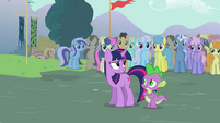 Twilight Sparkle and Spike S3E5