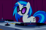Vinyl Scratch table