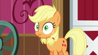 Young Applejack hears Granny Smith's voice S6E23