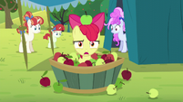 Apple Bloom disinterested -yay- S5E17