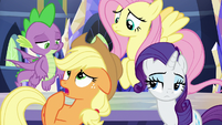 "Applejack ""do Flim and Flam count?"" S9E1"