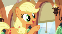 Applejack --we wanted to make sure-- S6E18