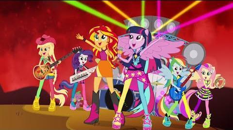 Bienvenido Al Show - MLP Equestria Girls - Rainbow Rocks! Español Latino