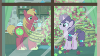 Big Mac giving Sugar Belle even more apples S7E8