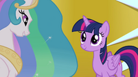 Celestia -what is the princess of friendship without her friends-- S4E26