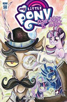Comic issue 50 cover RI