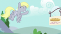 Derpy flying and waving to Twilight S6E6.png