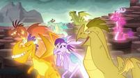 "Dragons being ""sad"" S6E5"