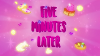 Five Minutes Later title card CYOE11c
