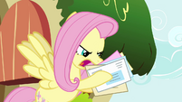 Fluttershy 'he's delivered the wrong mail...' S02E19