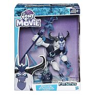 MLP The Movie Fan Series Storm King and Grubber packaging