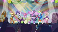 Main 6 singing on stage (new version) EG2