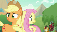 More Kirin approach AJ and Fluttershy S8E23