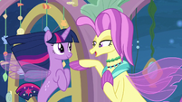 Ocean Flow honored to meet Twilight S8E6