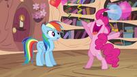 "Pinkie Pie ""woo-hoo!"" S4E04"