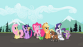 Ponies watching fly-by S2E7.png