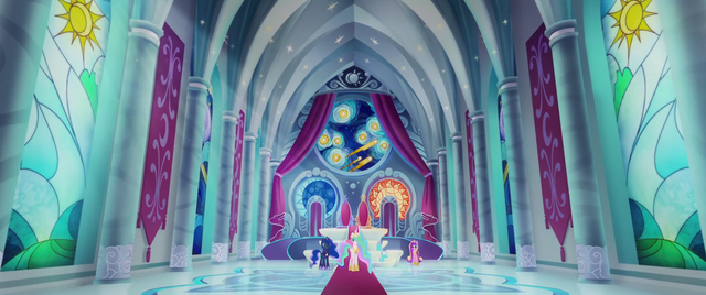 File:Princesses in the Canterlot throne room MLPTM.png