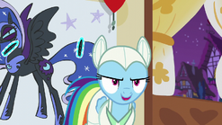 "Rainbow ""good luck beating that"" S5E21"
