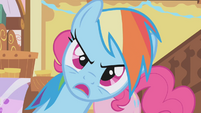 Rainbow Dash talks to Gilda S1E05