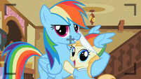 Rainbow Dash with Noi S2E8