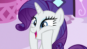 Rarity excited about the Applewood Derby S6E14
