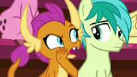 "Smolder ""is that a pony thing?"" S8E15"