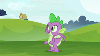 Spike -got it!- S8E24