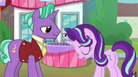 Starlight Glimmer sighing at her father S8E8