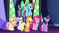 The Mane Six return home S7E2