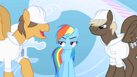 The bullies make fun of Rainbow Dash S1E16