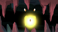 Torch opening his massive glowing maw S7E16