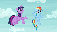 Twilight -he does seem to be moving a little slowly- S5E5