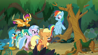 AJ and Rainbow agree to go together S8E9