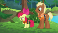 "Apple Bloom sings ""Everypony has to go out"" S6E4.png"