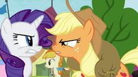 "Applejack ""it's five seconds faster!"" S4E22"