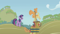 Applejack flailing her front legs S1E04.png